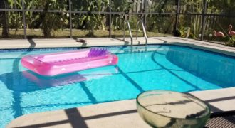 Private Pool Home with No Rear Neighbors $179,900